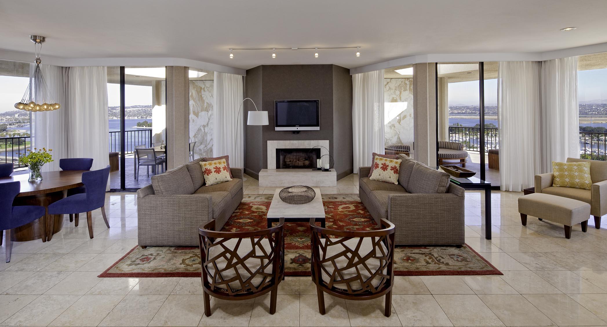 Exclusive Presidential Hotel Suites In San Diego Sdta