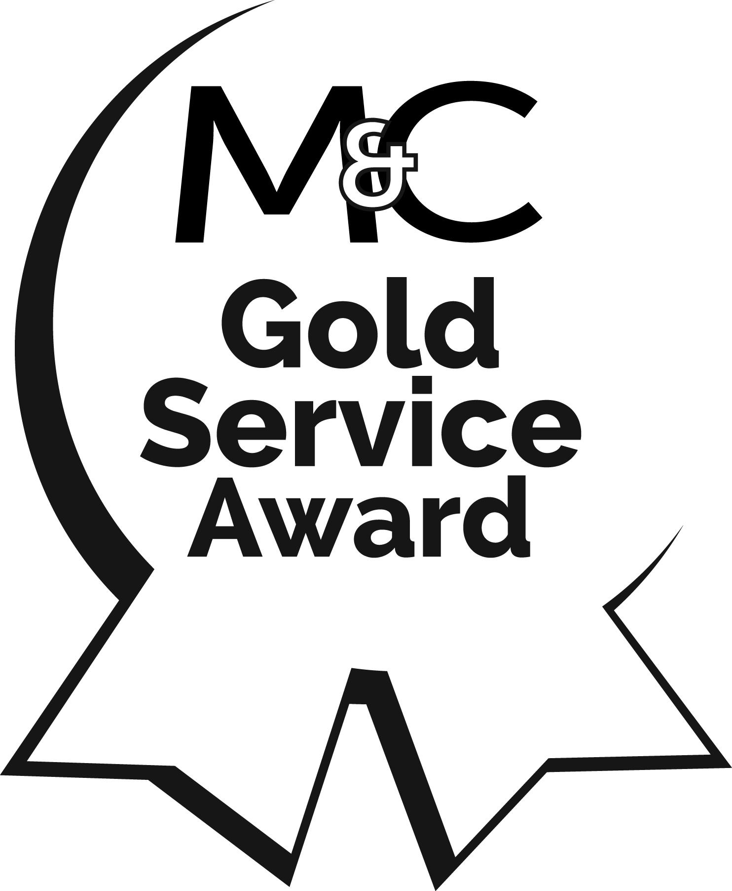Gold Service Award 2016