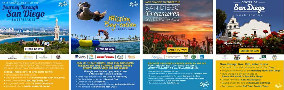 2016 San Diego Sub-Region Sweepstakes