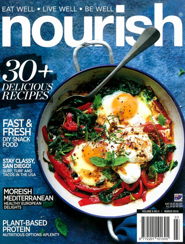 Nourish Magazine features San Diego on cover
