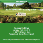 2015 SDTA Hospitality Open Golf Tournament set for April