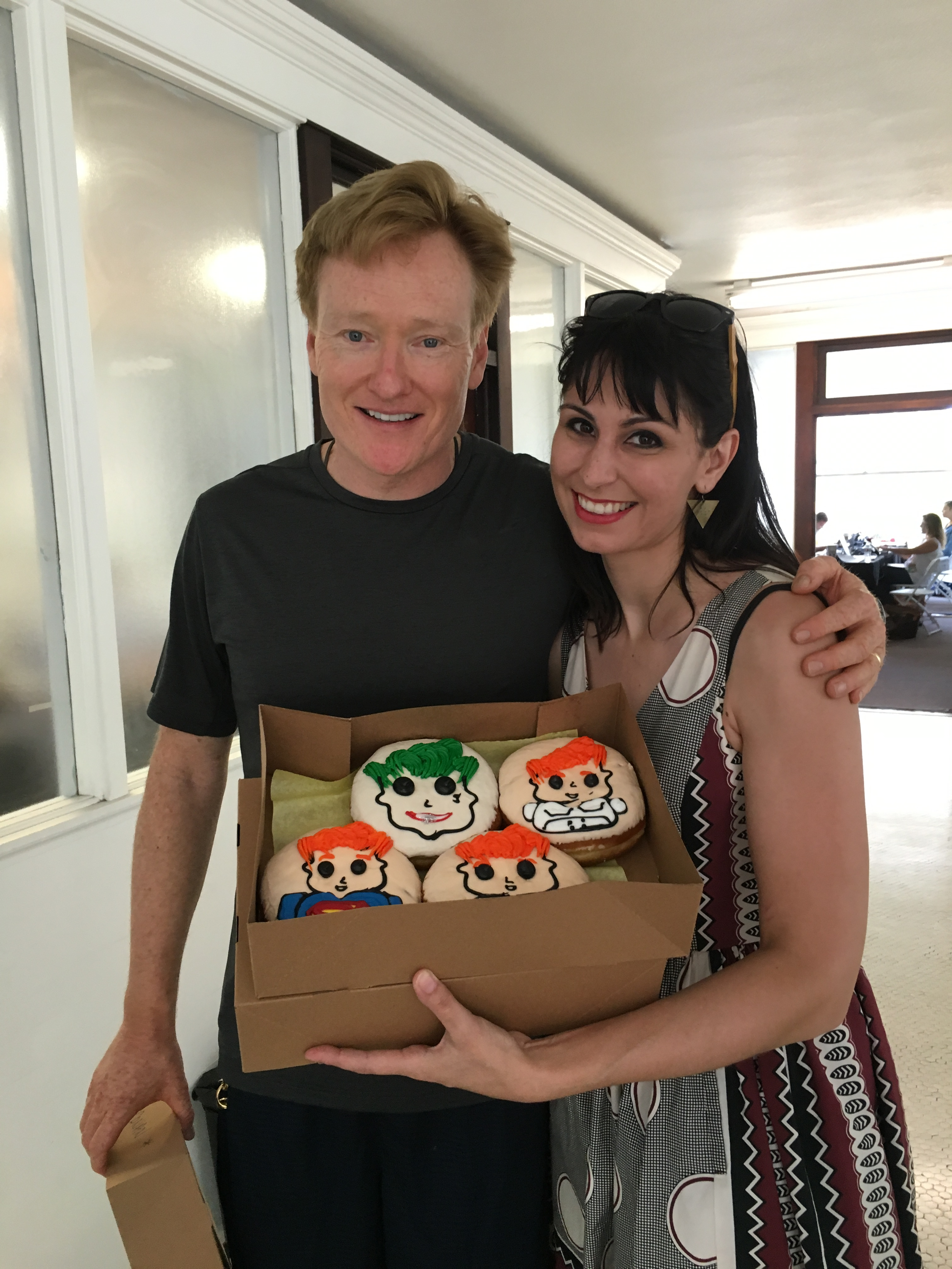 Conan O'Brien enjoys San Diego
