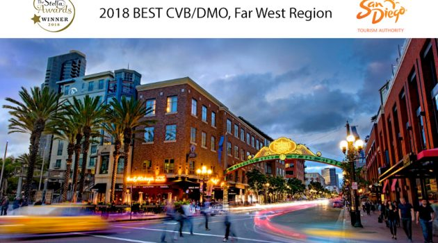 San Diego Tourism Authority wins 2018 Stella Award for Group Meetings