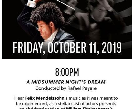 Exclusive Offer for SDTA Members: An Evening to Enjoy at the San Diego Symphony
