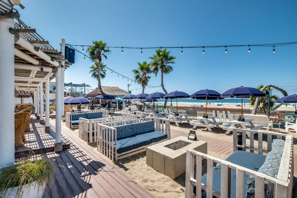 Belmont Park Beach House venue with beach views