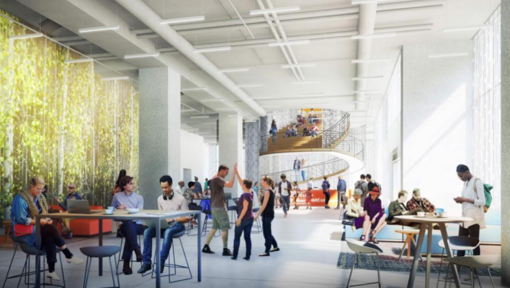 UCSD Extension - indoor view.